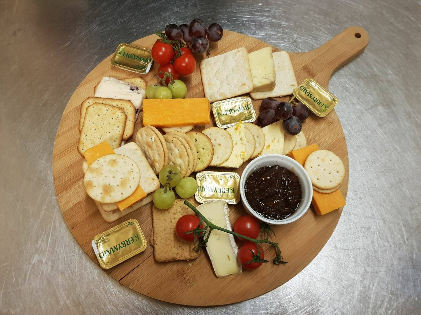 Cheese board White Horse Inn Hurstpierpoint
