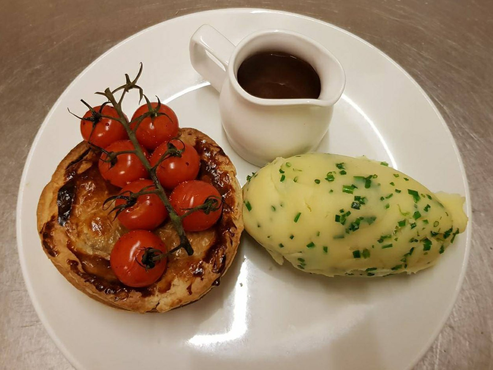 Pie and mash White Horse Inn Hurstpierpoint