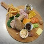 Platter on menu page